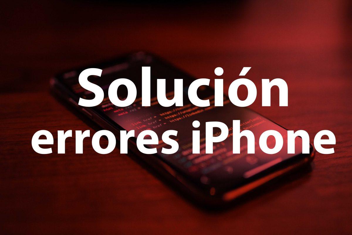 Errores iPhone